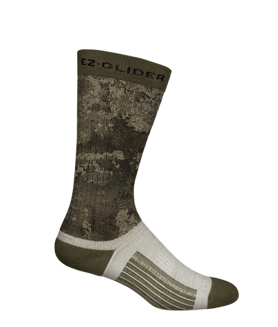 "9"" Synthetic Knit 10-12 Compression 3-in-1 Socks with EZ Glide"