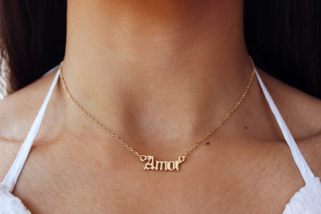 mi amor necklace