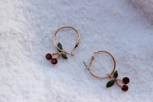 cherry on top hoops