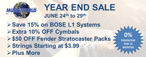Year End Inventory Clearance Sale