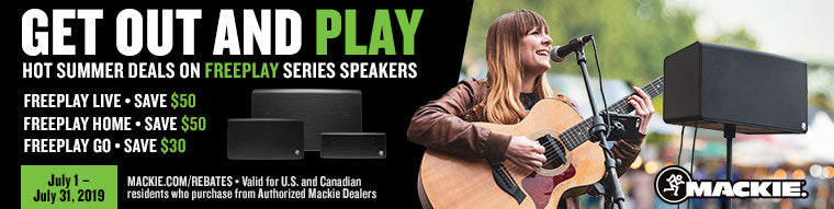 Mackie FreePlay Instant Savings