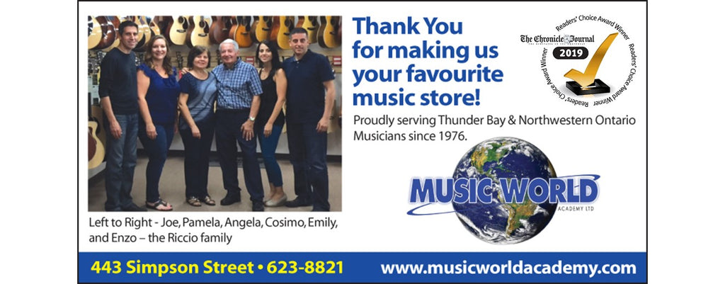 Music World 2019 Readers' Choice Award Winner