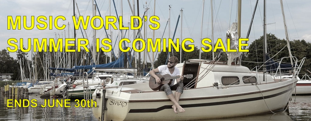 Music World's Summer is Coming Sale