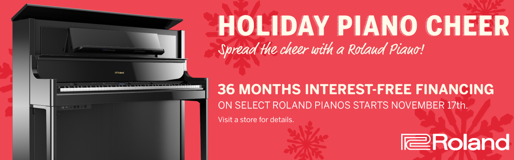 Roland Piano Holiday Cheer