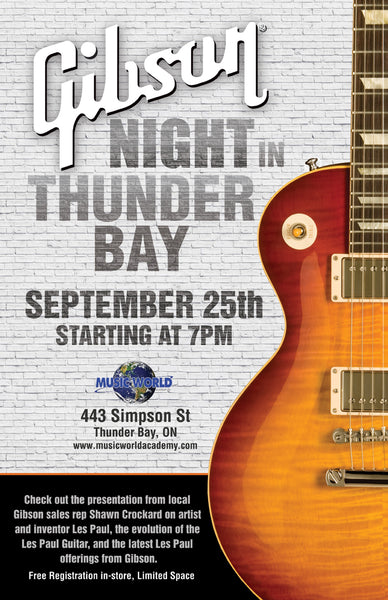 Gibson Night in THunder Bay
