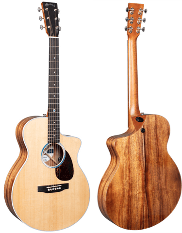 The New Martin SC-13E Guitar