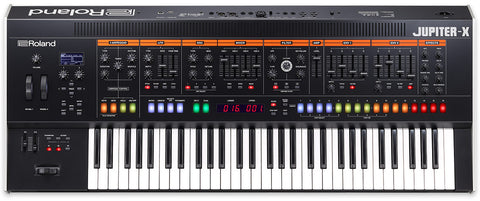 Premium Synths Launch in Roland Jupiter-X Series