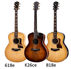 New Taylor V-Class Grand Orchestra Models