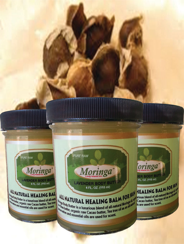 12 jars, Moringa Body Butter