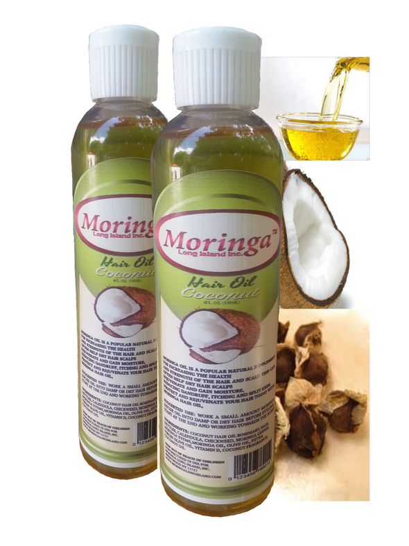 12 bottles Moringa Coconut Hair Oil