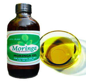 6 bottles, Moringa 4 oz Oil