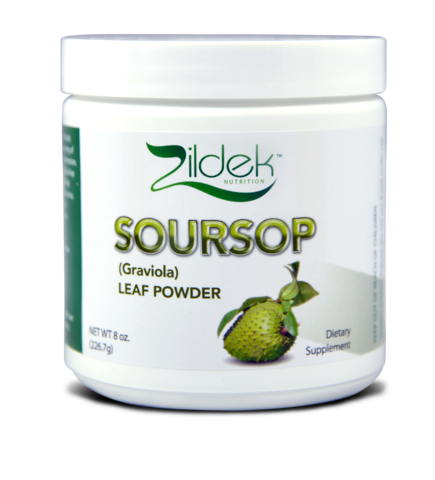 12 bottles,Graviola (sour sop) Leaf Powder 8 oz