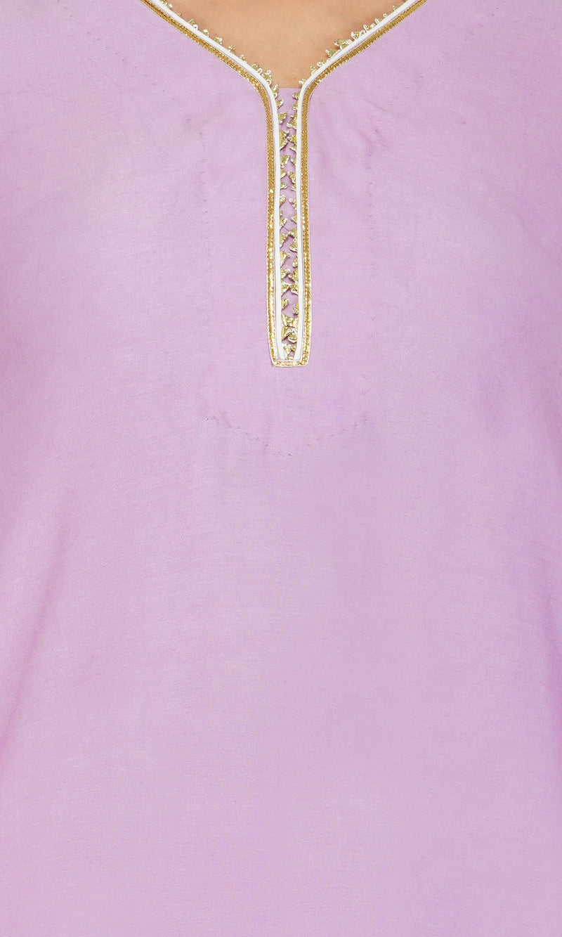 Lilac Scalloped Suit - Set of 3