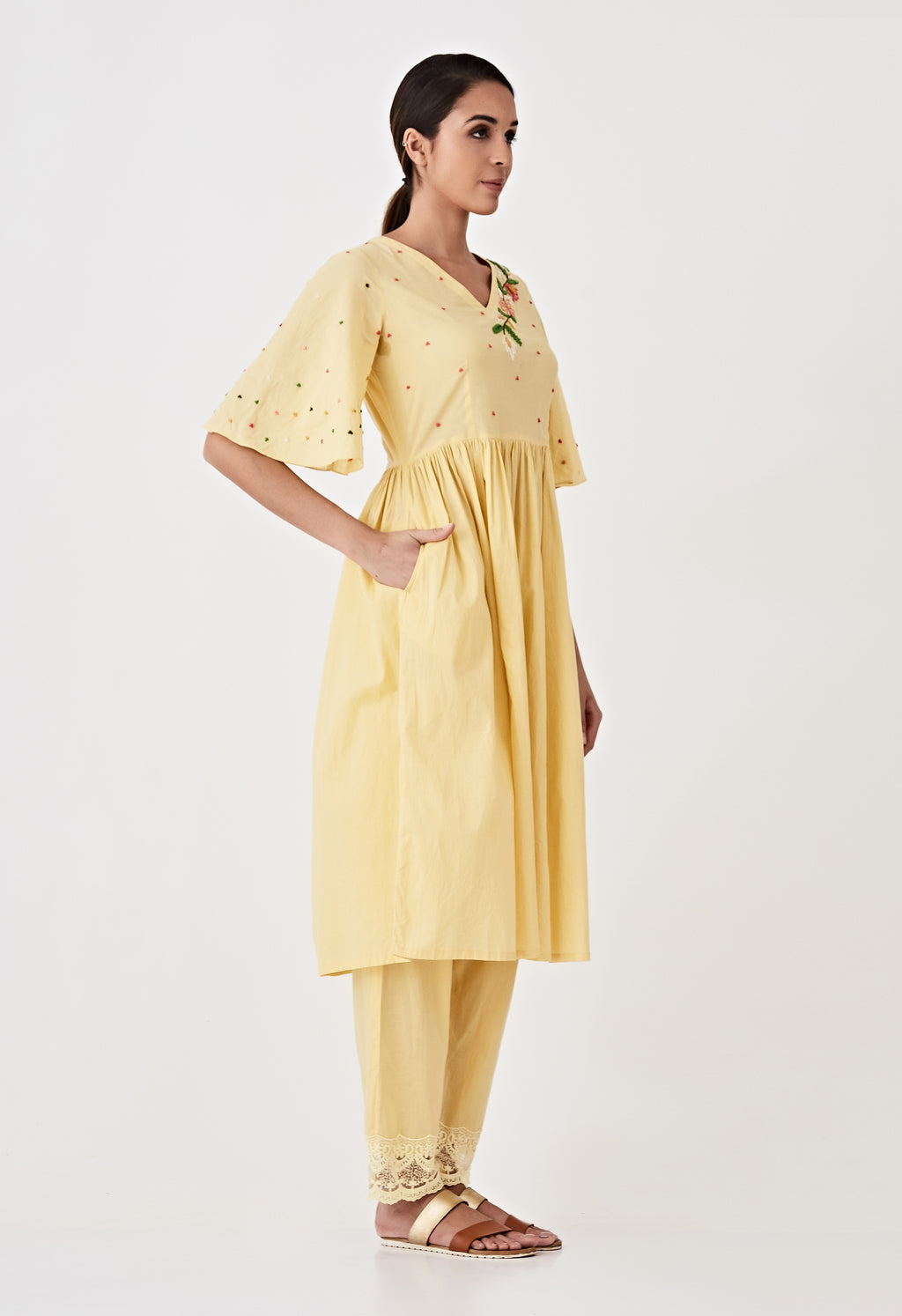 Yellow co-ordinate Set