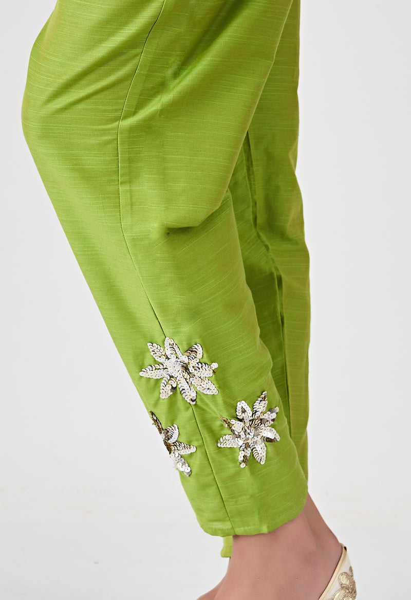 Sequins Bottom - Green