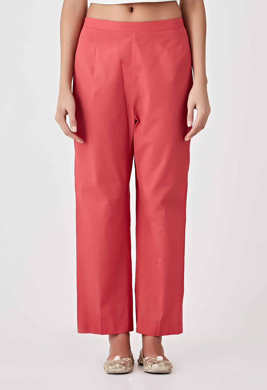Plain Pants - Red