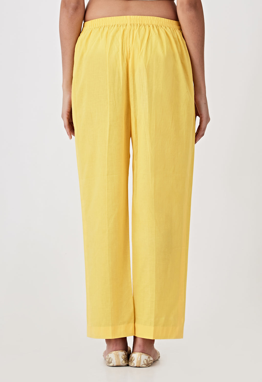 Plain Pants - Yellow