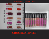 Crushed Lip Set