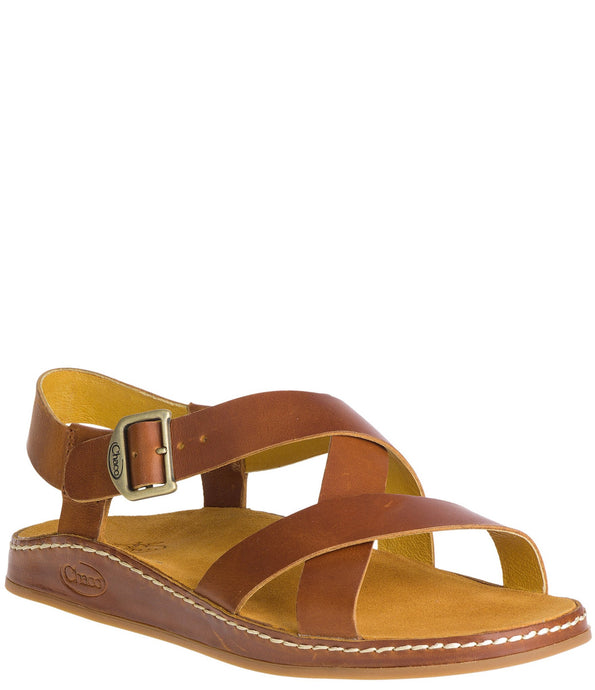 'Chaco' Women's Leather Wayfarer Sandal - Ochre