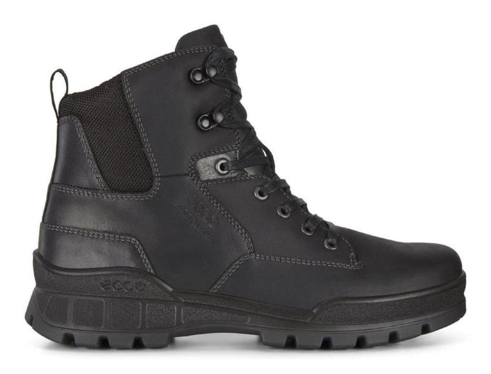 'Ecco' Men's Track 25 Mid Hiker - Black