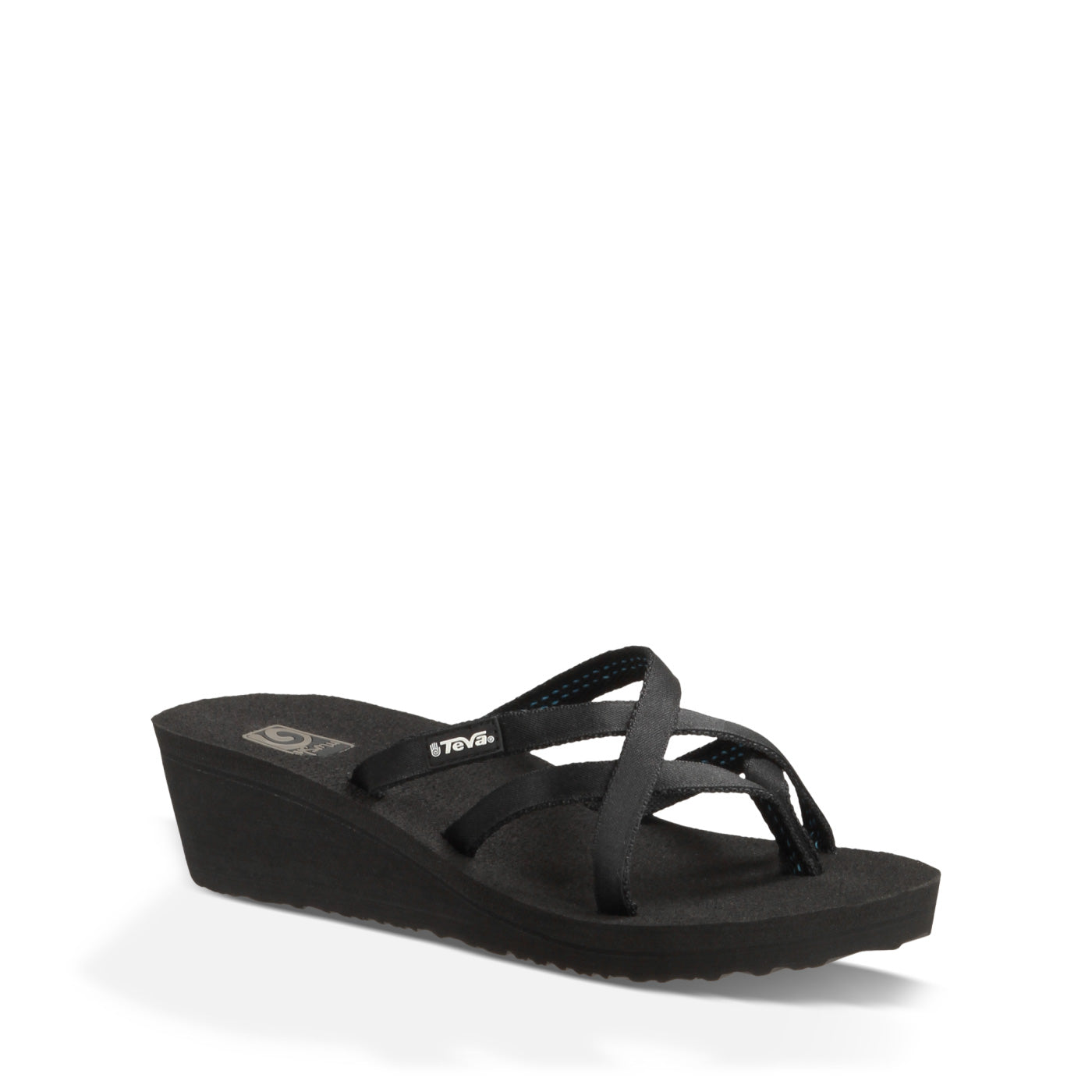 'Teva' 1000099 - Mush Mandlyn Wedge Sandal - Black