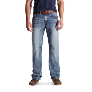 'Ariat' Men's M4 Coltrane Durango Low Rise Boot Cut - Medium Wash