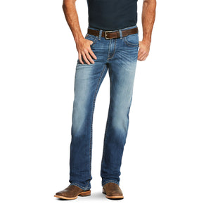 'Ariat' 10020798 - Men's M4 Cooper TekStretch Boot Cut - Phoenix