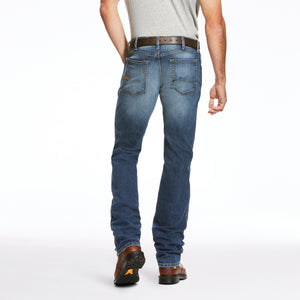 Rebar M3 Loose DuraStretch Basic Stackable Straight Leg Jean - Blue Haze