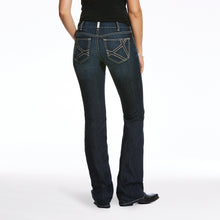 REAL Mid Rise Mira Boot Cut Jeans - Deep Sea Denim