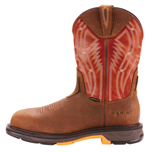 'Ariat' Workhog XT Dare Carbon Toe - Rye Brown / Brick