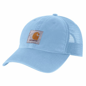 'Carhartt' Unisex Mesh Back Adjustable Cap - Light Blue