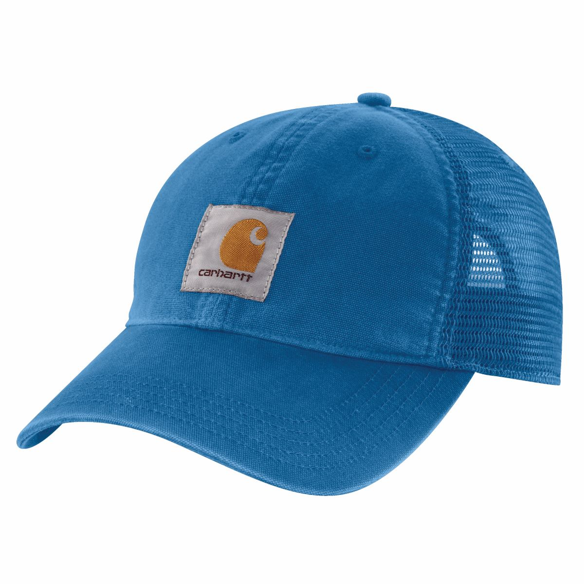 'Carhartt' Unisex Mesh Back Adjustable Cap - Light Cobalt