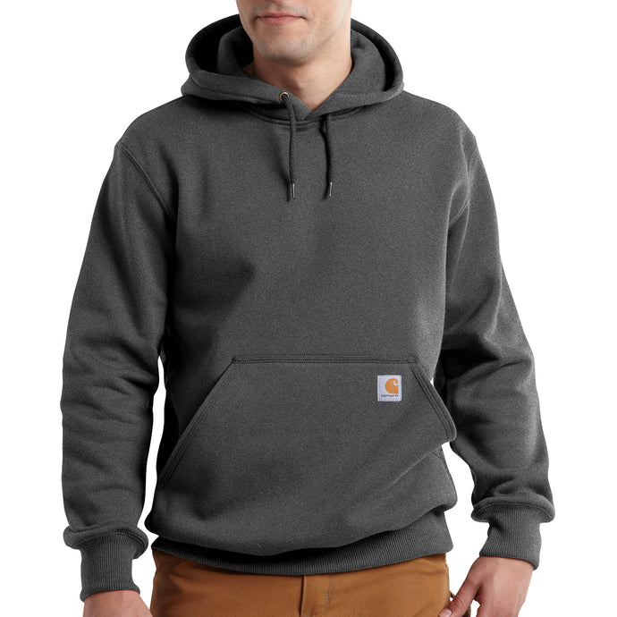 'Carhartt' Men's Rain Defender Paxton Heavyweight Hoodie - Carbon Heather