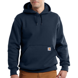 'Carhartt' Men's Rain Defender Paxton Heavyweight Hoodie - New Navy