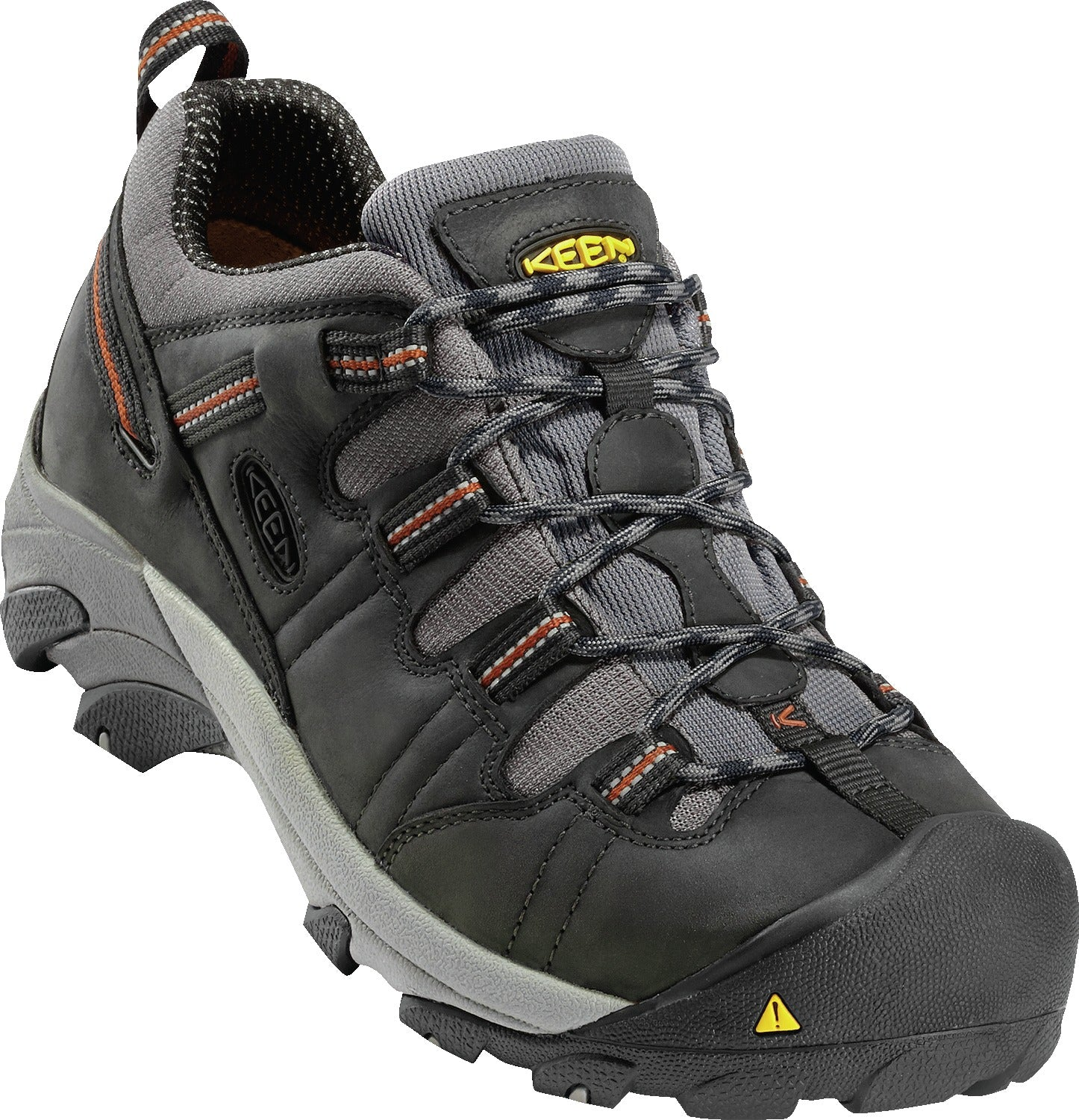 'Keen' 1007010 - Detroit Low Steel Toe Shoe - Dark Grey / Grey