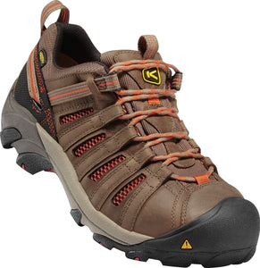 Men's Flint Low Steel Toe - Brown / Orange / Black