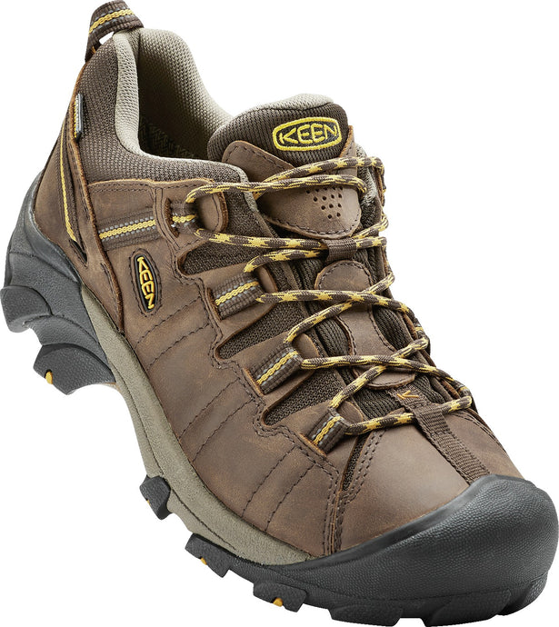 'Keen' Men's Targhee II WP Hiker - Cascade Brown / Golden Yellow
