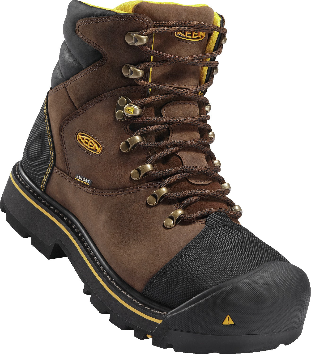 Milwaukee Waterproof Steel Toe - Dark Earth Brown / Black