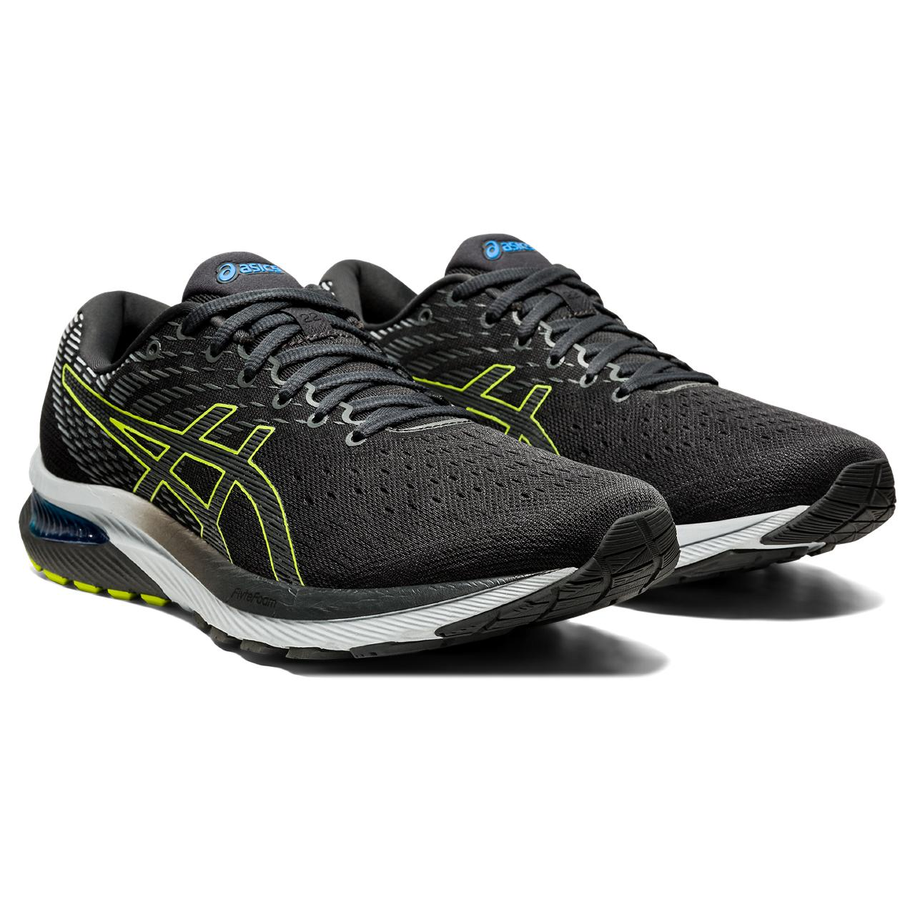 'ASICS' Men's Gel Cumulus 22 - Graphite Grey / Lime Zest