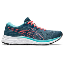 'ASICS' Women's Gel Excite 7 - Magnetic Blue / Sunrise Red