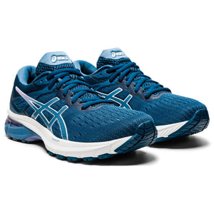 'ASICS' Women's GT-2000 9 - Mako Blue / Grey Floss (Wide)