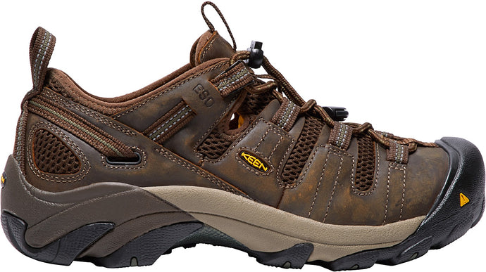 'Keen' Men's Atlanta Cool ESD (Soft Toe) - Cascade Brown / Forest Night