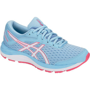 'ASICS' 1014A003 402 - Youth GEL-Cumulus 20 GS Shoe - Skylight / White