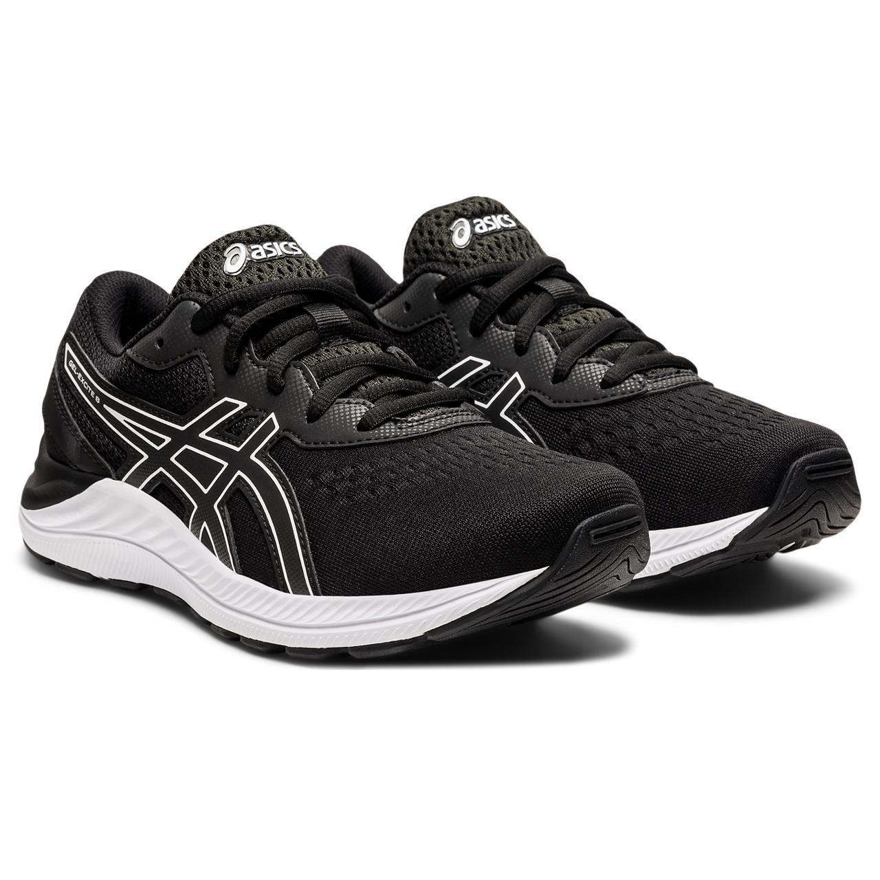 'ASICS' Youth Gel Excite 8 - Black / White