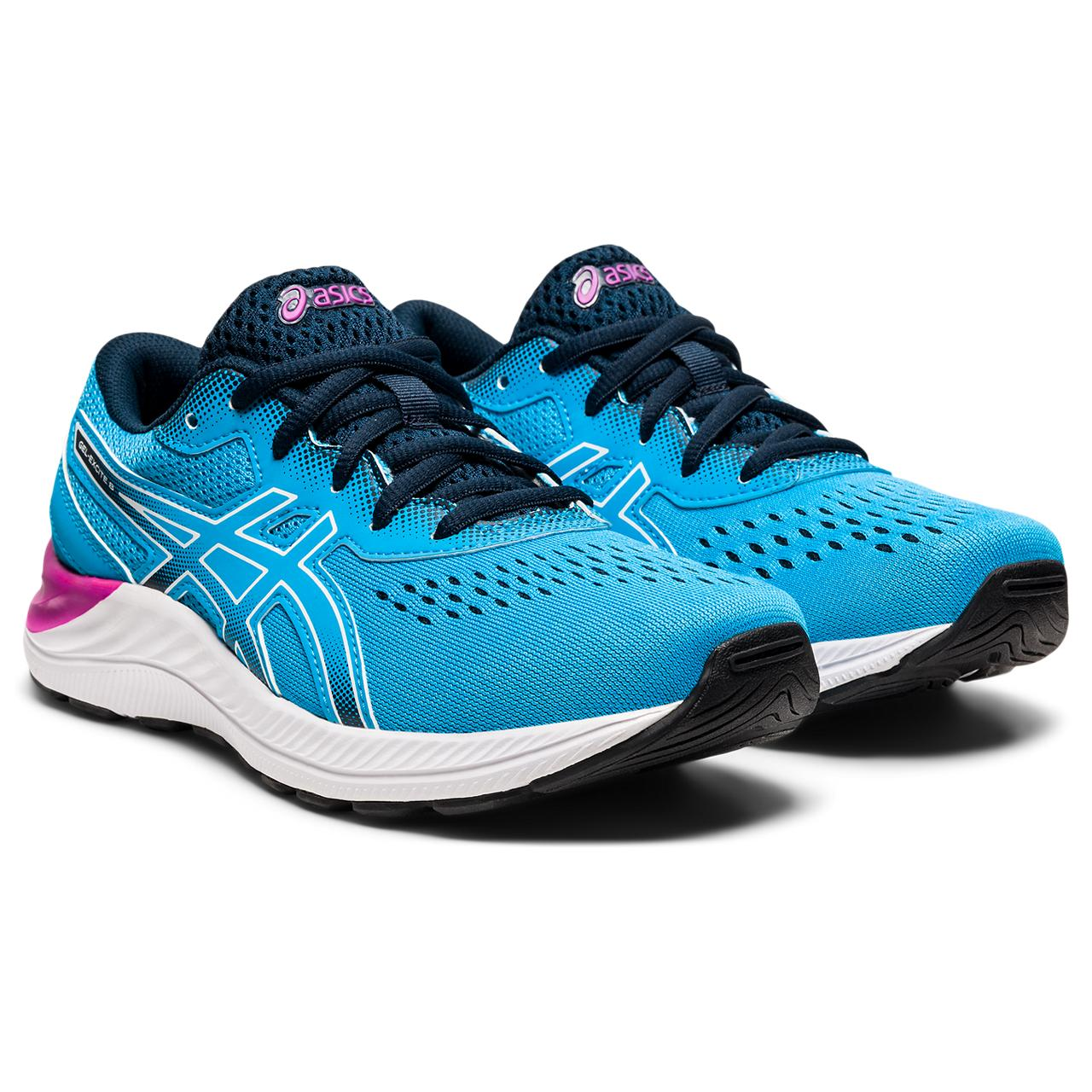 'ASICS' Youth Gel Excite 8 - Digital Aqua / White
