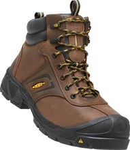 "'Keen Utility' Men's 6"" Warren ESD Steel Toe - Dark Earth Brown / Black"