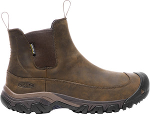 'Keen' Men's Anchorage III WP 200 Grams - Dark Earth / Brown