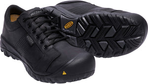 'Keen Utility' Men's La Conner ESD Aluminum Toe - Black