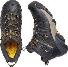 Lansing Waterproof Mid Steel Toe Hiker- Raven Black / Tawny Olive