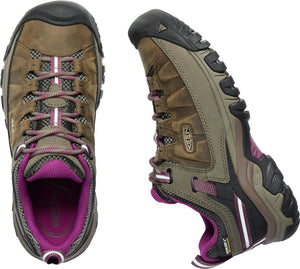 'Keen' Women's Targhee III WP - Weiss Brown / Boysenberry Pink